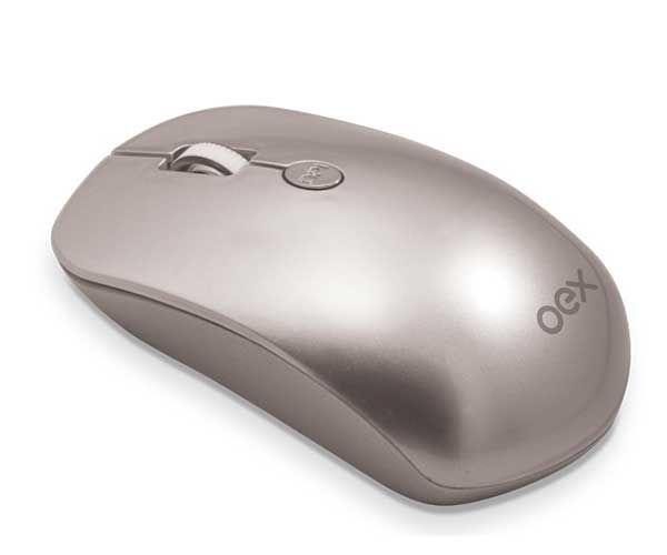 Mouse sem Fio Óptico Flat MS401 - Oex