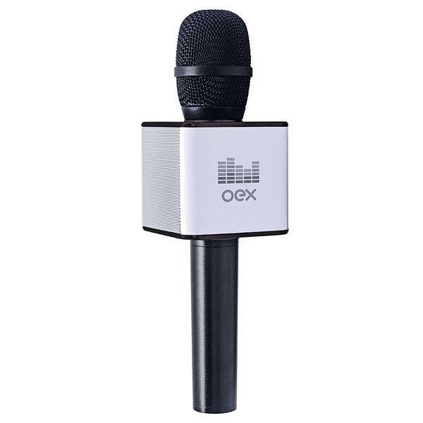 Microfone Karaoke Voice Bluetooth 6W MK100 - Oex