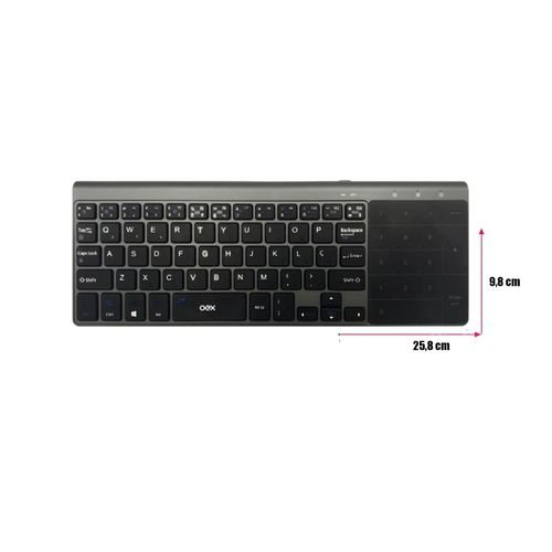 Teclado Bluetooth Premium Touch Tc503 - Oex