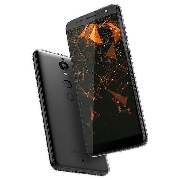 """Smartphone Quantum L, Tela de 6"""", 16GB, 12MP, Android Oreo, Preto - Quantum"""