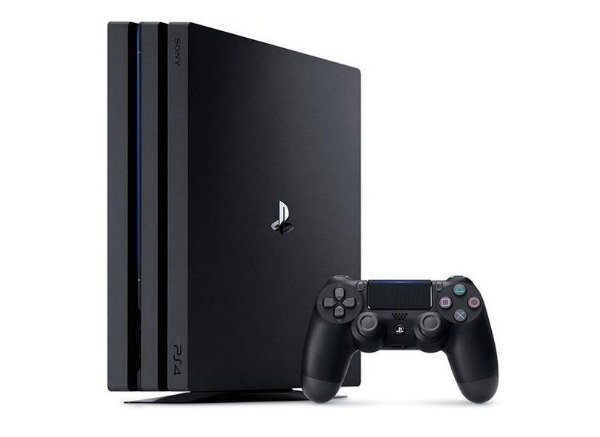 Console Playstation 4 Pro 1TB 4K Com Controle Ps4 Sem Fio