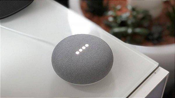 Assistente Pessoal Google Home Mini Caixa de Som Wi-Fi