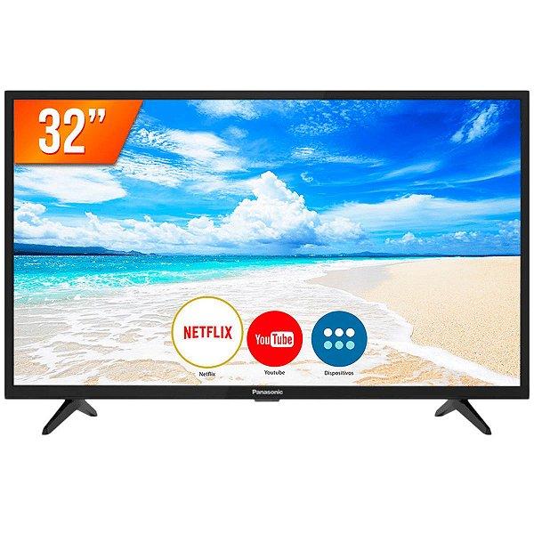 "Smart TV 32"" LED Netflix Youtube 2 HDMI 2 USB Wi-Fi - Panasonic"