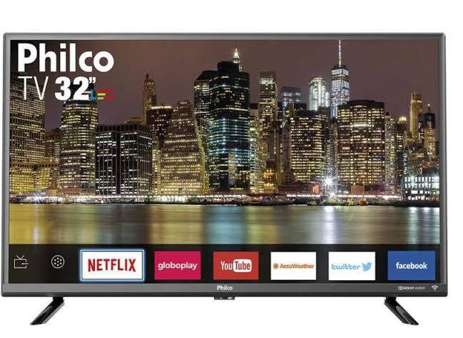 """Smart TV LED 32"""" Philco PTV32G50SN HD com Conversor Digital 2 HDMI 1 USB Wi-Fi Áudio Dolby - Philco"""