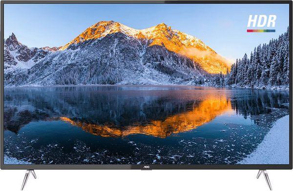 "Smart TV AOC 50"" 50U6295/78G 4K com Conversor Digital 3 HDMI 2 USB WI-FI 60Hz - AOC"