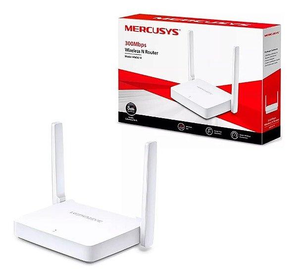 Roteador Mercusys Wireless Mw301r 300mbps 2 Antenas