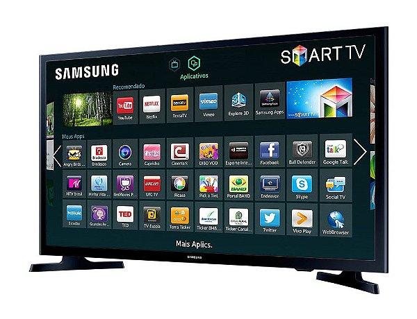 Smart TV LED Samsung 32'' UN32J4290 2 HDMI 1 USB com Wi-Fi  - Samsung