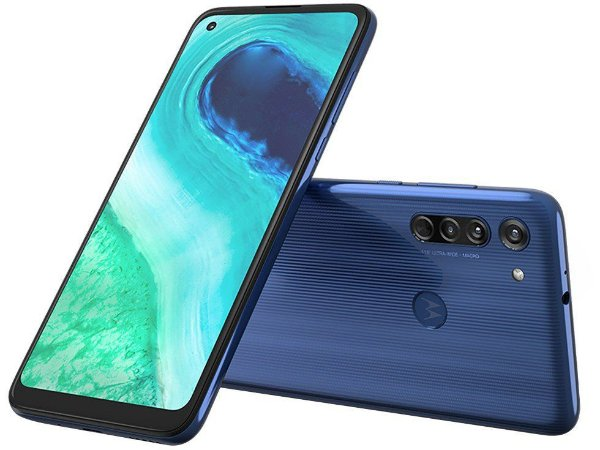 "Smartphone Motorola Moto G8 64GB 4G - 4GB RAM Tela 6,4"" Câm. Tripla + Câm. Selfie 8MP"