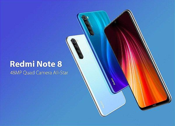 Smartphone Redmi Note 8 32Gb Tela 6.3 Versão Global - Xiaomi