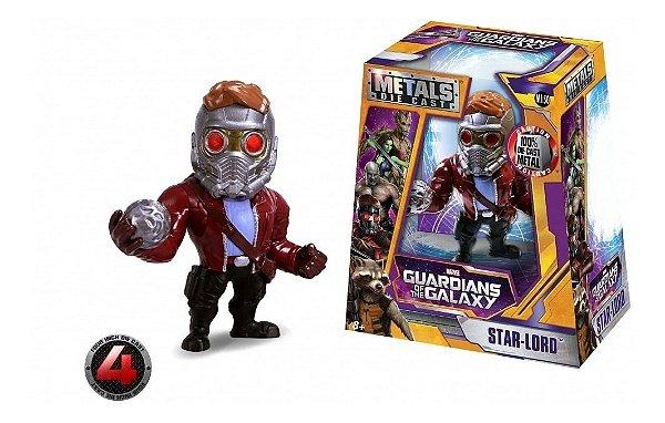 Metalfigs - Star Lord Guardiões da Galaxia 10CM - Metal Die Cast M150