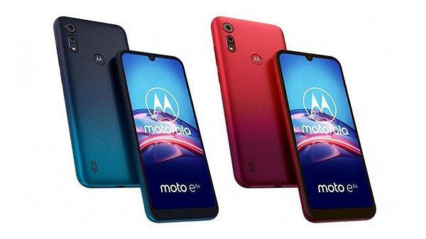 "Smartphone Motorola Moto E6S XT2053 32GB Câmera Dupla 13MP + 2MP Frontal 5MP 2GB RAM Tela 6,1"" Android 9.0"