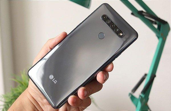Smartphone LG K51S, 64GB, 3GB RAM, Cinza Titanium