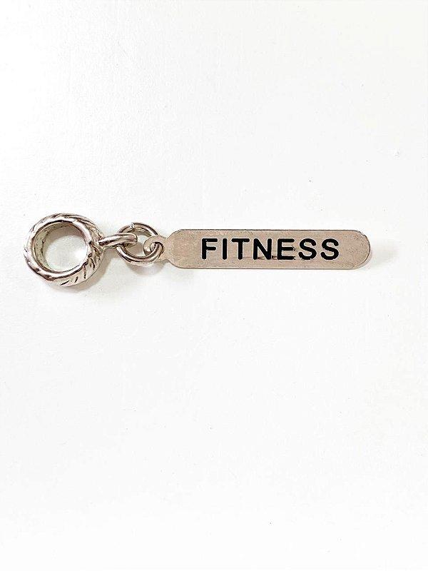 Berloque plaquinha Fitness