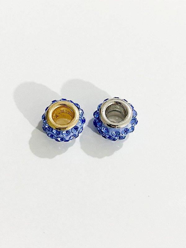 Separador pedrinhas separadas azul claro