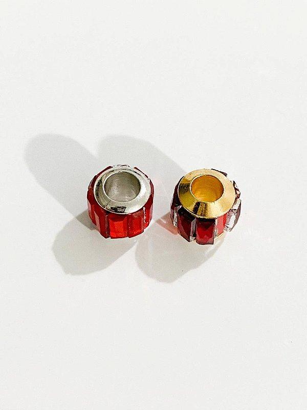 Separador vidrilho vermelho