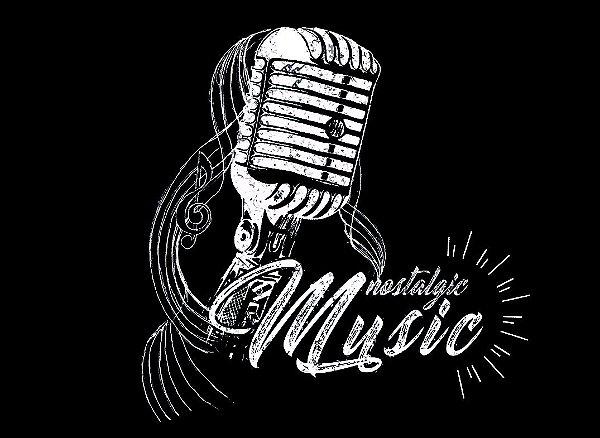 Camiseta Lisa Longline - Microfone