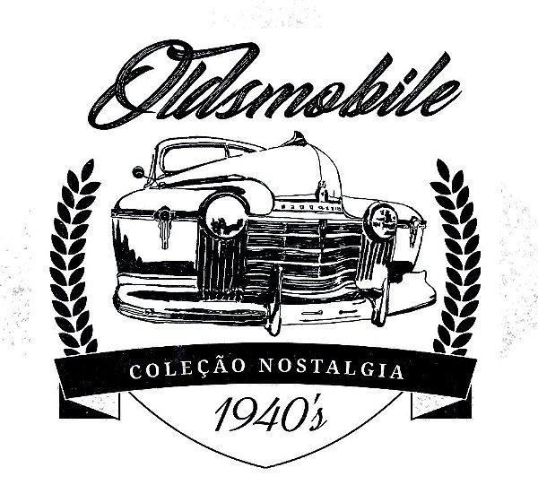 Camiseta Raglan Longline - Carro Oldsmobile