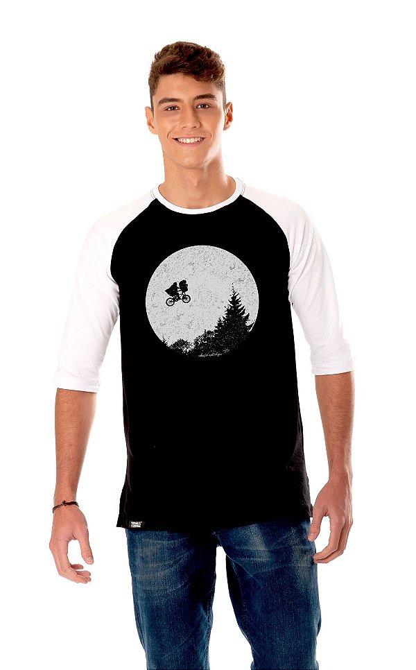 Camiseta Raglan 3/4 Longline - ET