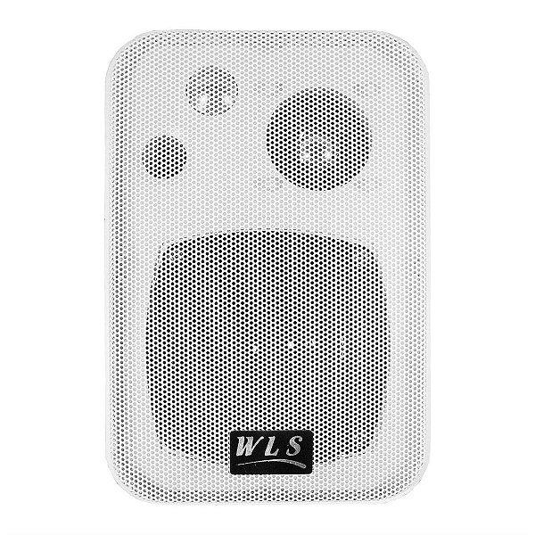 Caixa Acústica Para Som Ambiente Branca 50W M-4 - WLS