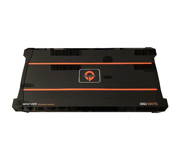 QUANTUM AUDIO QZA3100D Monobloco 3000 Watt Amplificador Mono 1 Canal Sub Amp Knob