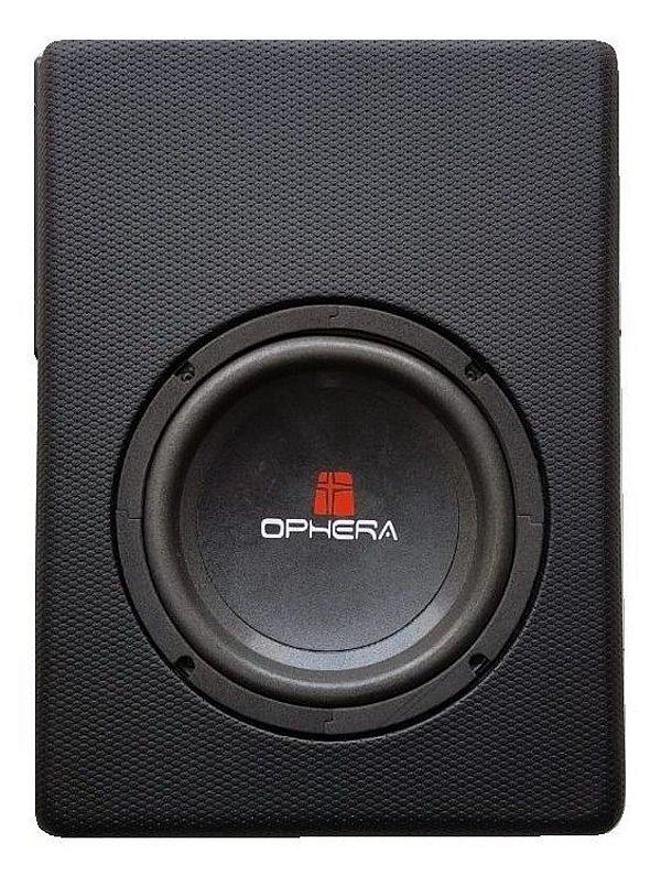 Caixa Slim Amplificada Sub 8 P/ Embaixo Banco 200w Ophera