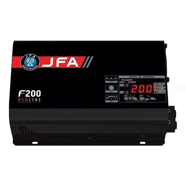 Fonte Carregador Jfa 200 Amperes Sci Red Line Volt/amp