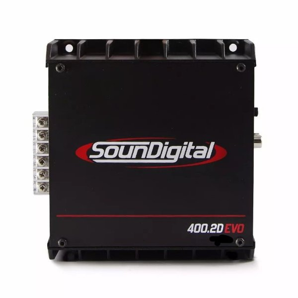 AMPLIFICADOR SOUNDIGITAL SD400.2D EVO Bridge 2 OHMS