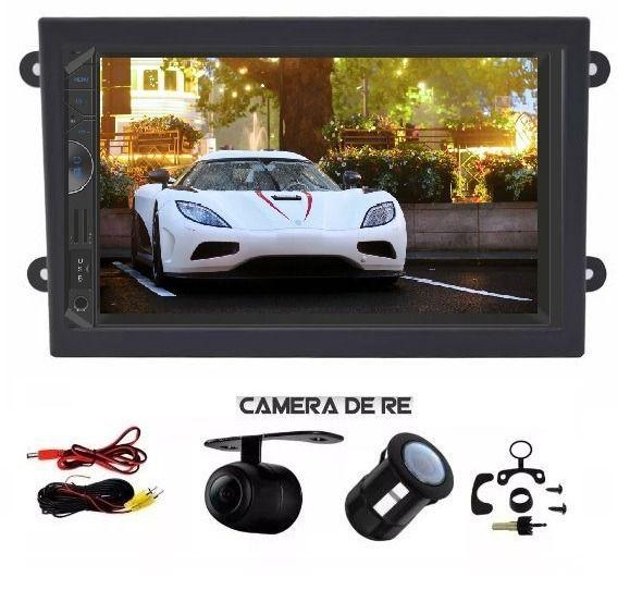 Central Multimidia Mp5 Espelhamento Android Bt + Câmera