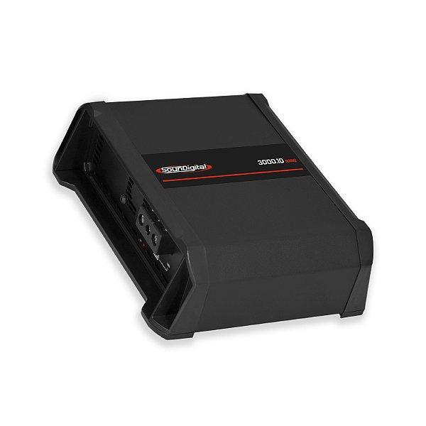 AMPLIFICADOR SOUNDIGITAL SD3000.1D 1 OHMS NANO
