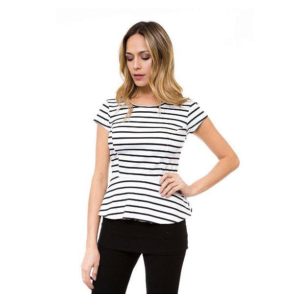 8feb5dc1f7a4f Blusa peplum listras branca comprar roupas online blusas vestidos jpg  600x600 Blusas peplum