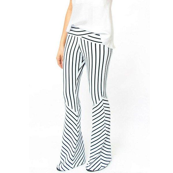 Calça Listras Branca - Comprar Roupas Online blusas f97ba14fbfe