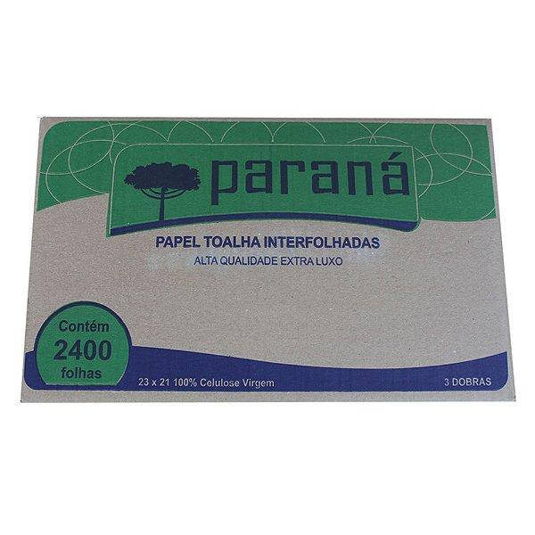 PAPEL TOALHA INTERFOLHA PARANÁ 23X21CM – 2400 FOLHAS