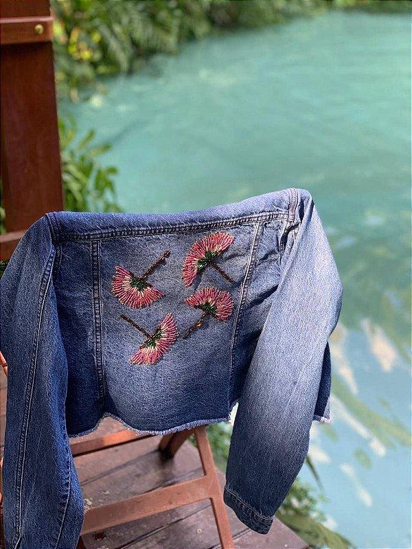 Jaqueta jeans caliandra