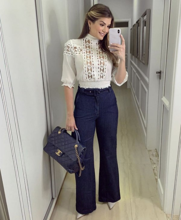 Calça Jeans c/ Cinto
