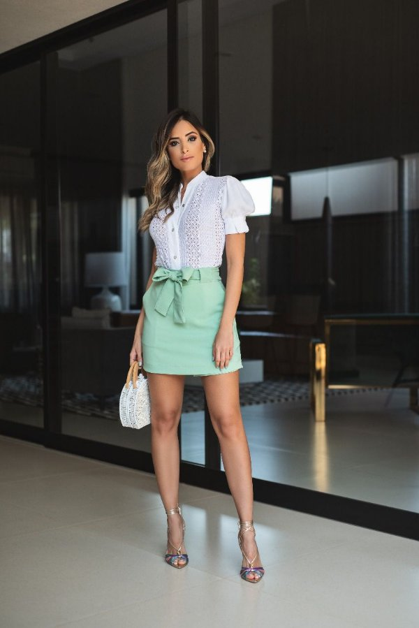 Shorts saia Bianca