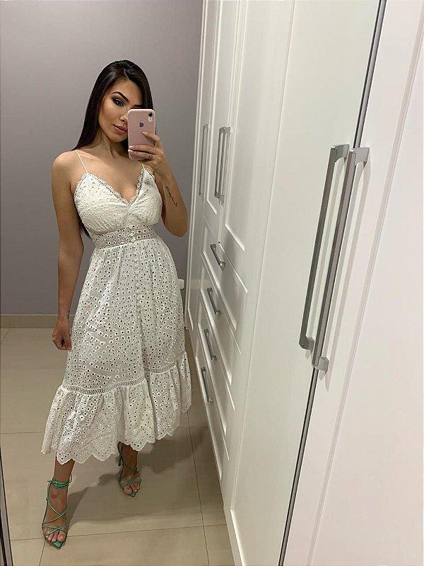 Vestido Mid leise Milena