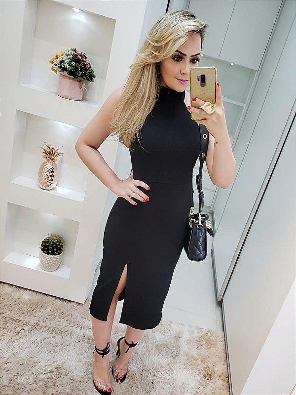 Vestido Gabi preto