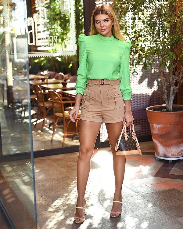 Shorts Bege Ana