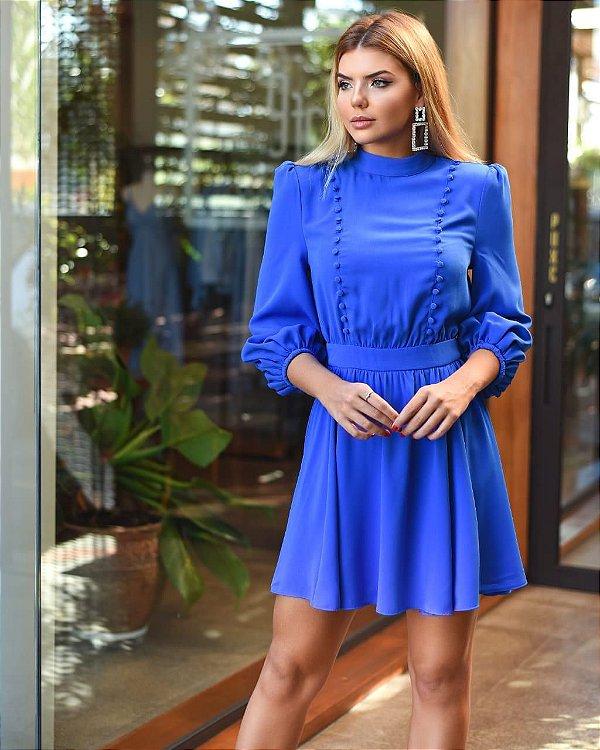 Vestido Ana Laura Azul