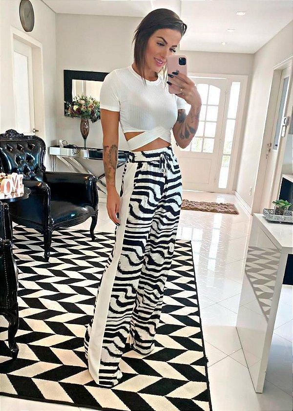 Calça zebra