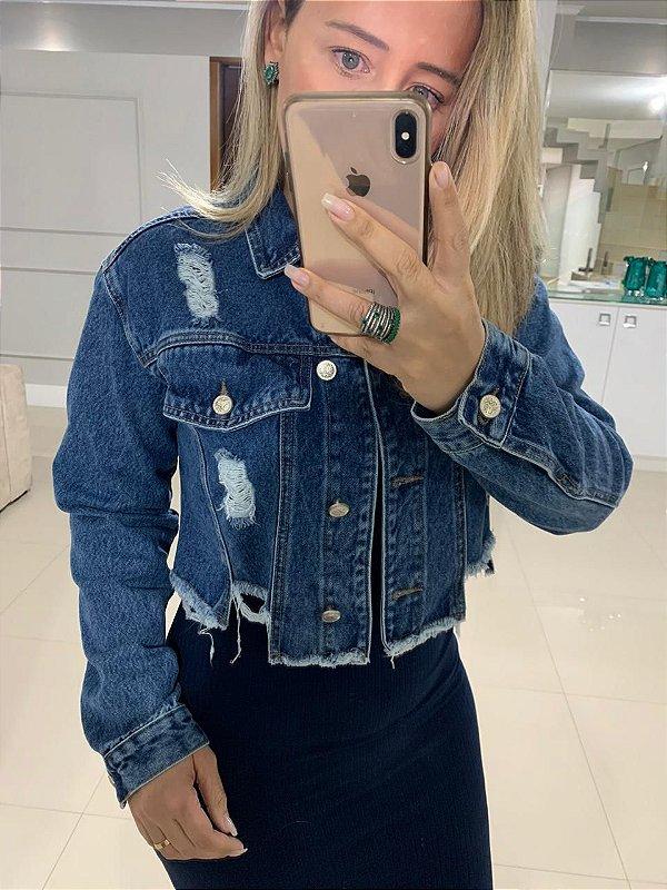 Jaqueta jeans bela