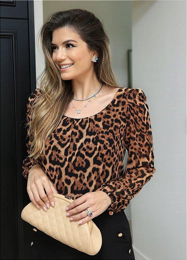 Blusa Onça Adriana