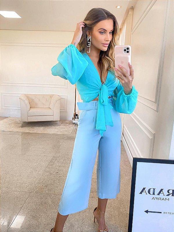 Calça Azul Bianca