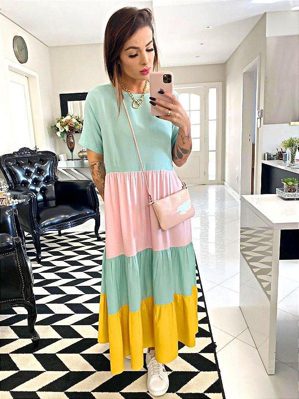 Vestido Color