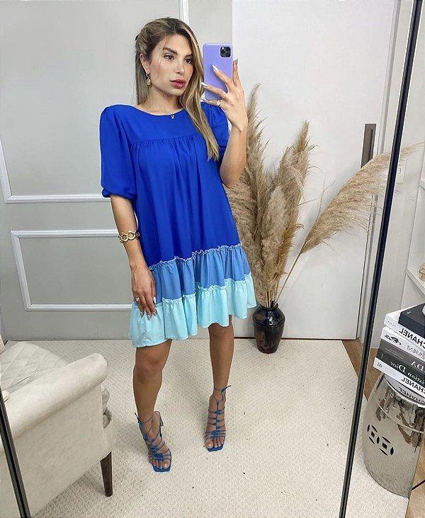 Vestido Natalia Azul