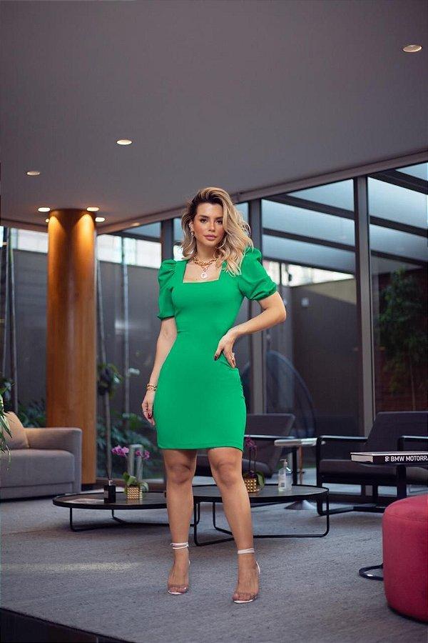 Vestido Verde Sara