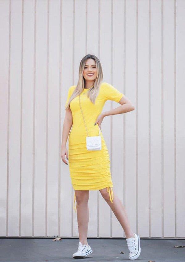 Vestido Amarelo Ribana
