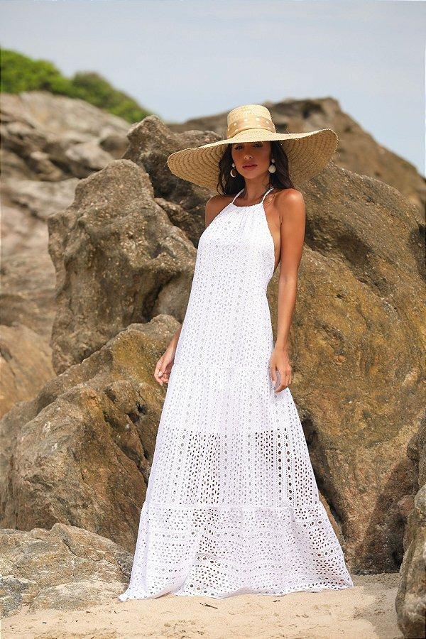 Vestido longo Leise Kaká