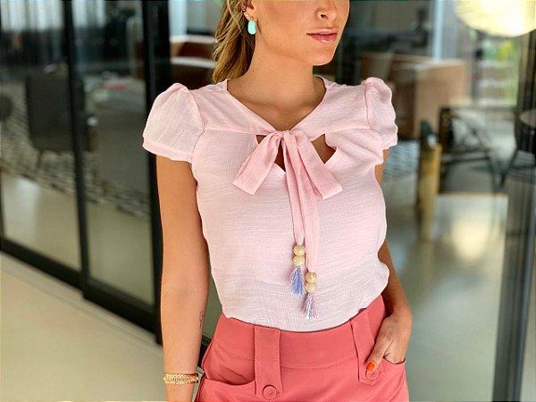 Blusa Cristal-Rosa