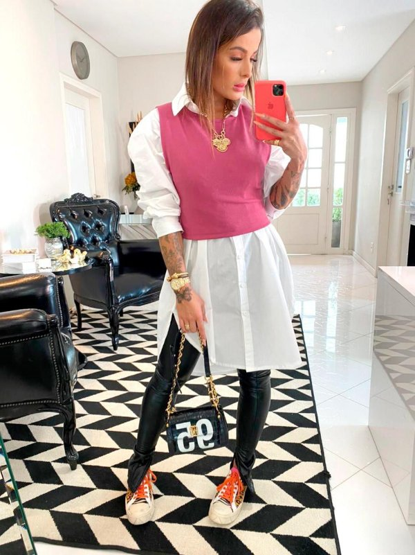 REGATA CROPPED FUSCIA